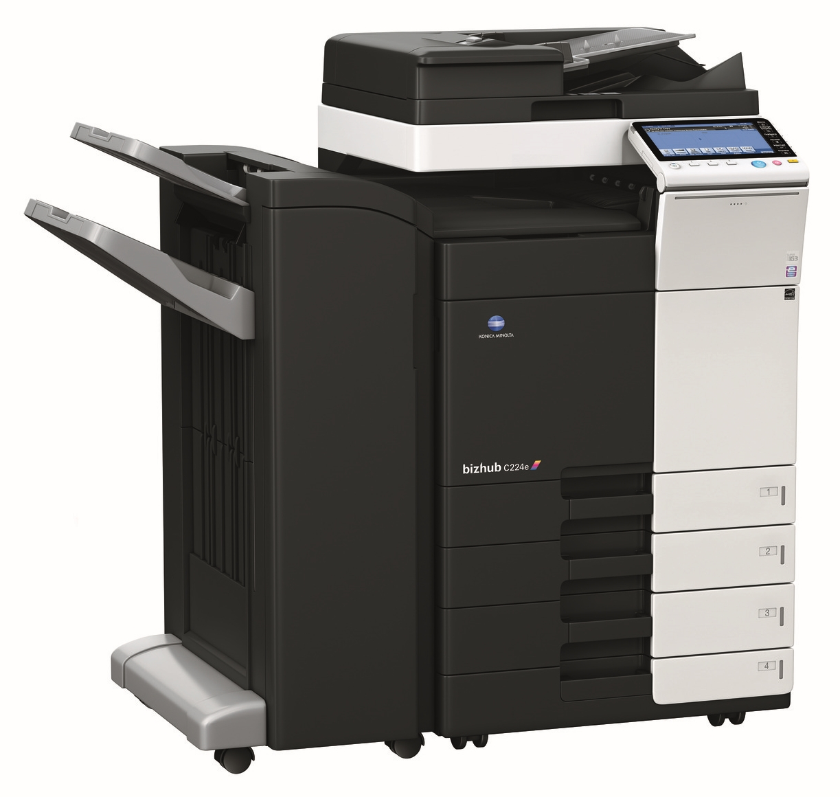 Konica Minolta bizhub C224e με Finisher