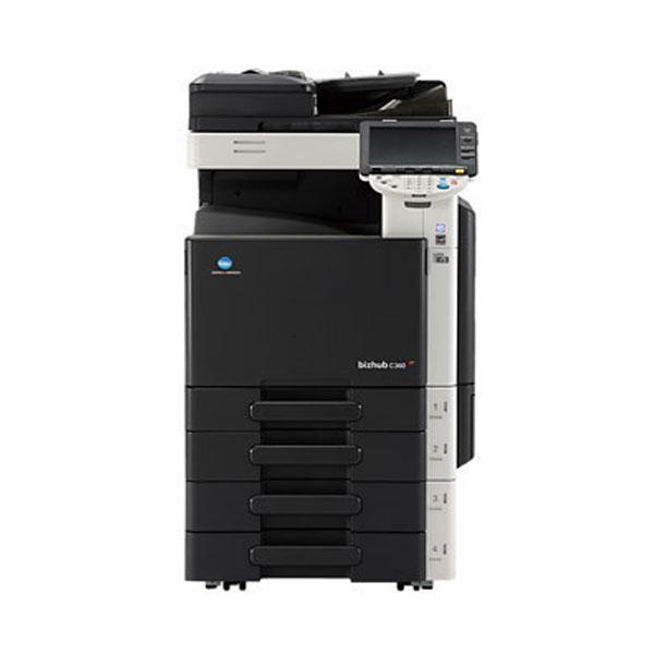 Konica Minolta bizhub C360 με Booklet Finisher και Fax Kit